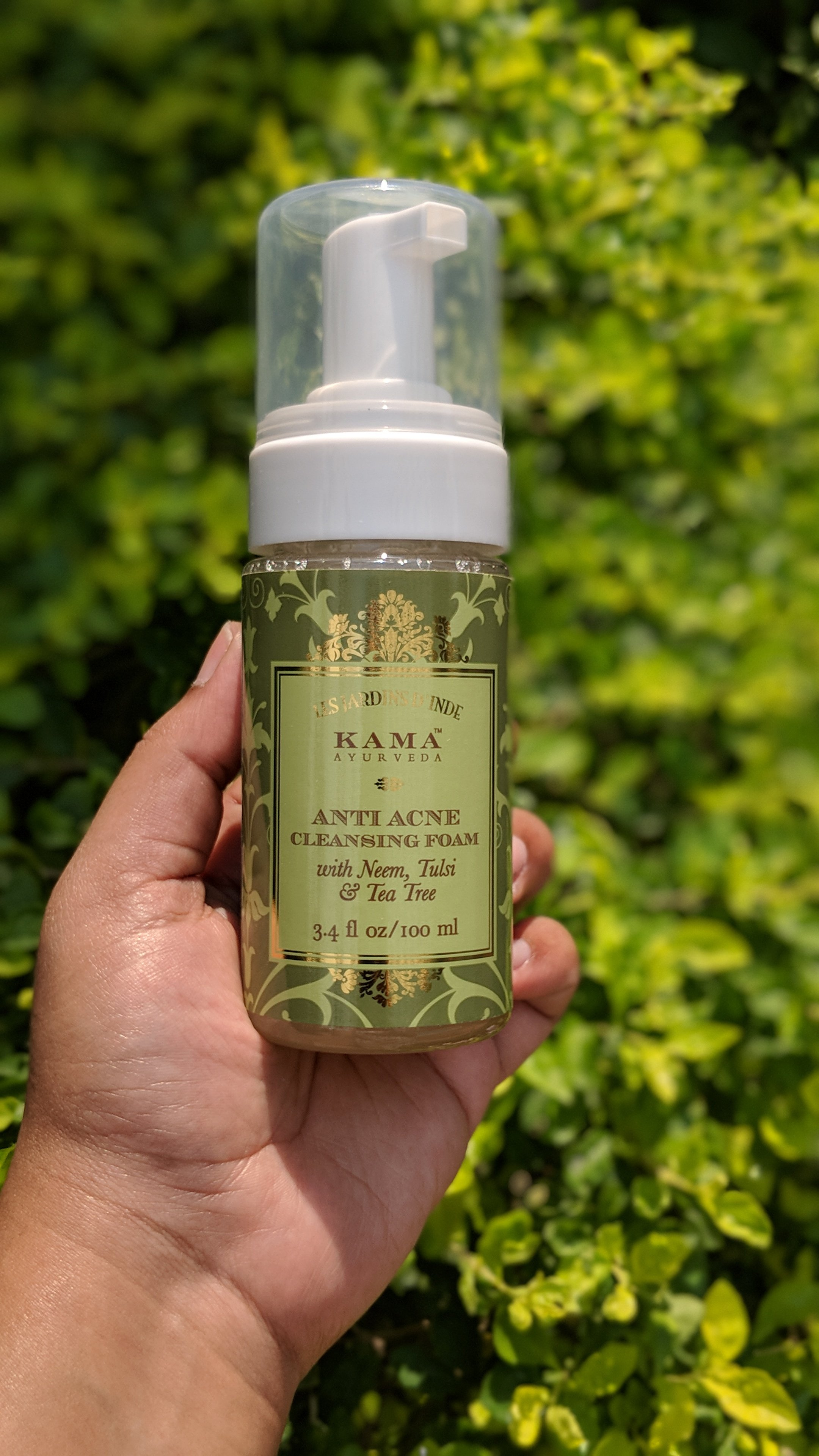 Kama Ayurveda Anti Acne Cleansing Foam