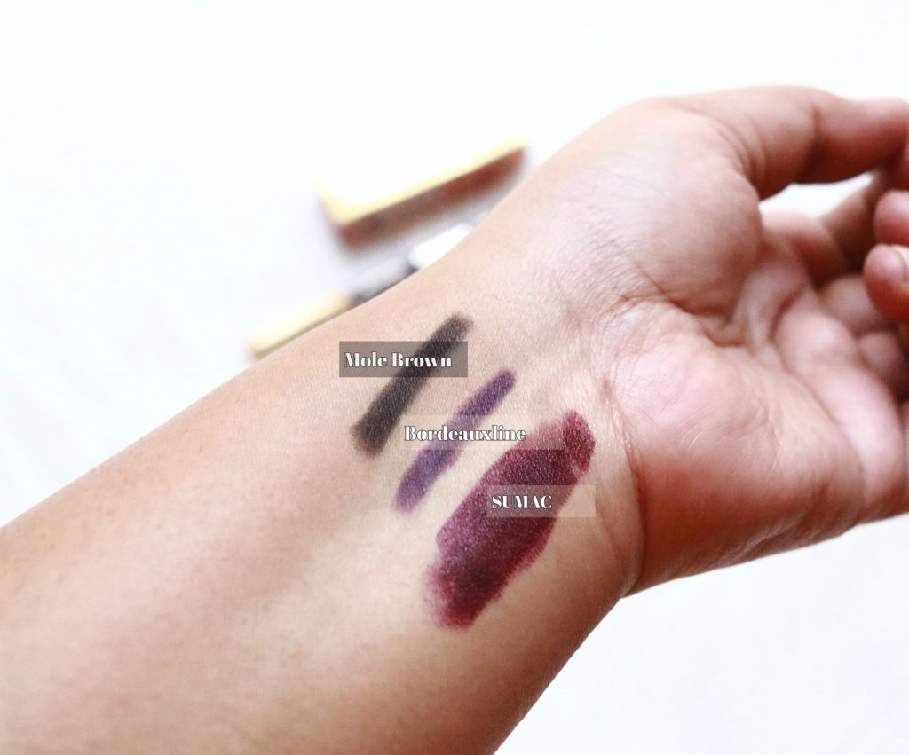 MACxPADMA Collection Swatches