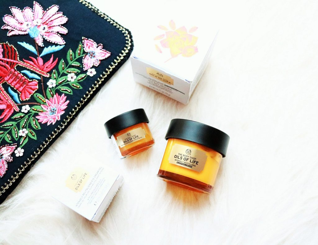 The Body Shop Oils of Life range