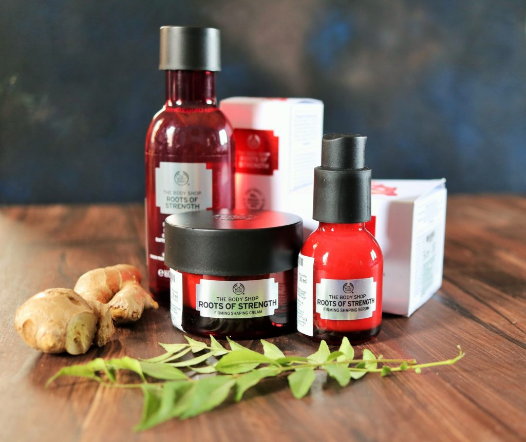 The Body Shop Roots of Strength range