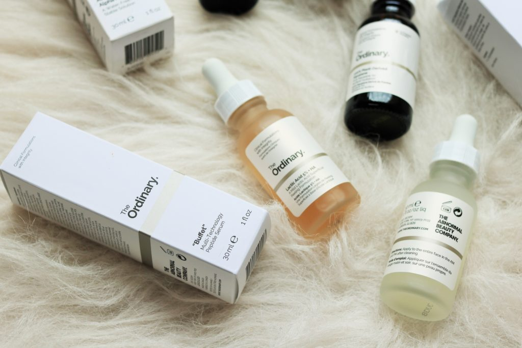 Deciem The Ordinary Skincare Products