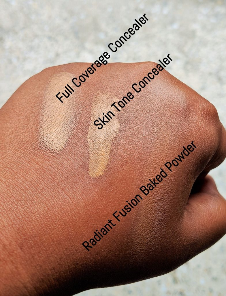 Kiko Milano Concealer & Powder Swatches
