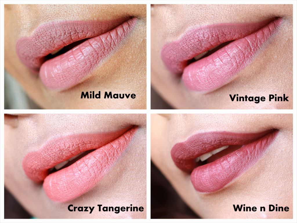 Lakme Absolute Matte Melt Liquid Lip Color Swatches