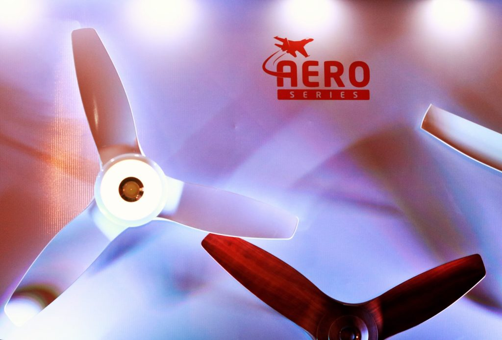 Orient Electric Aero Series Range