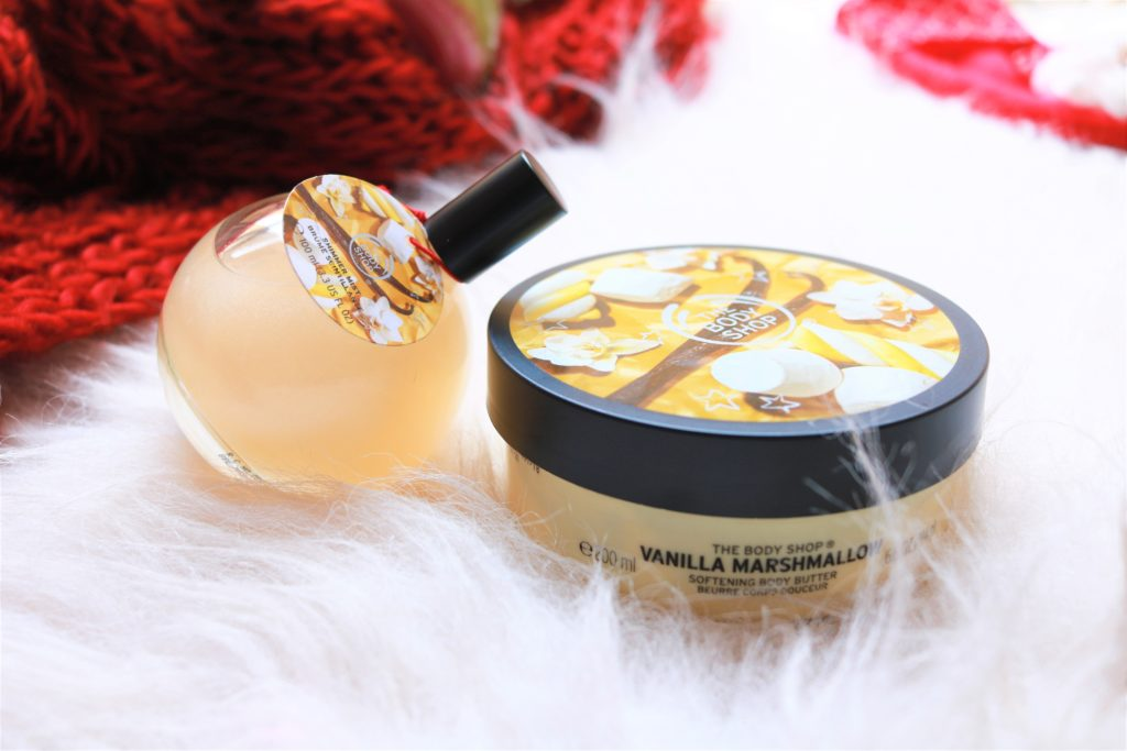The Body Shop Vanilla Marshmallow range
