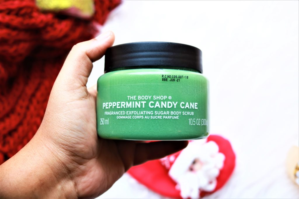 The Body Shop Peppermint Candy Cane Body Scrub