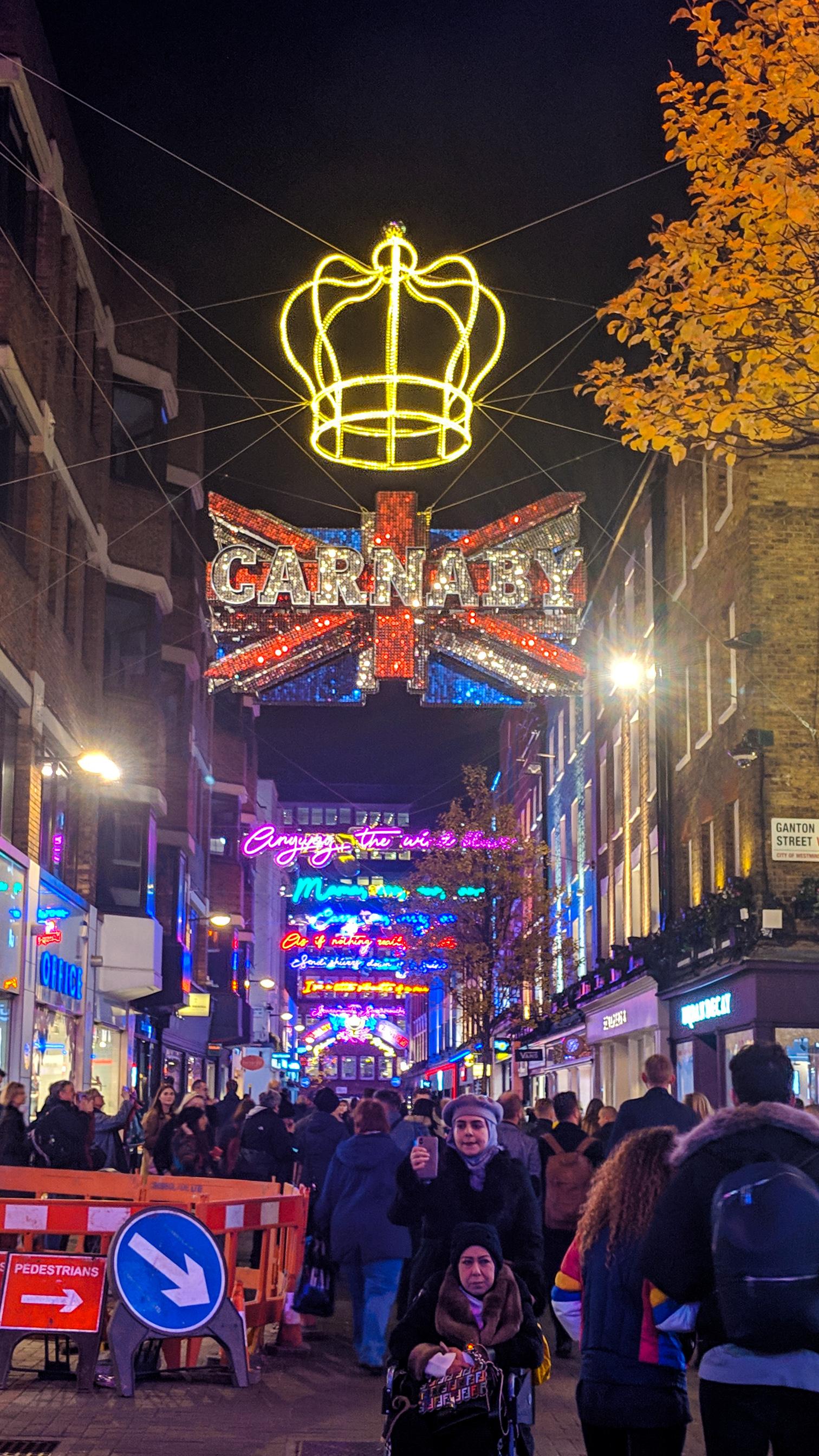 Carnaby Street Christmas 2018
