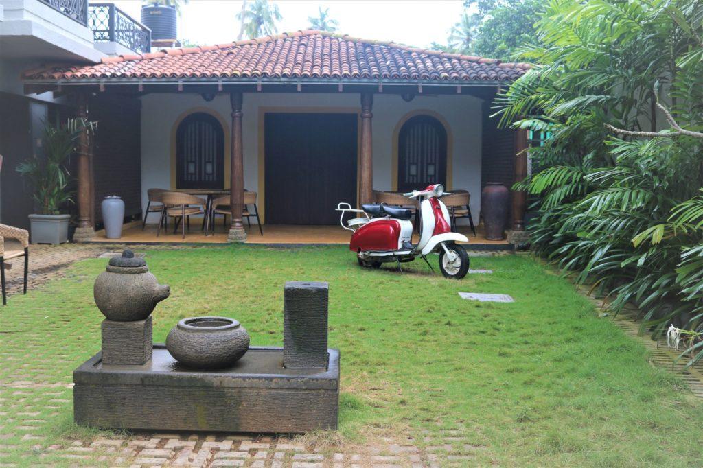 Replica of a Goan style villa
